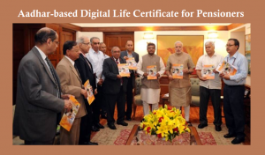 Aadhar-based Digital Life Certificate for pensioners