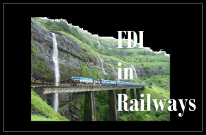 FDI in Railways