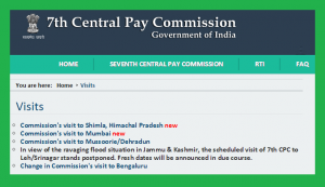 Memorandum to theSeventh Pay Commission