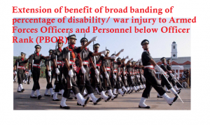 Pay Scales for PBORs of Armed Forces
