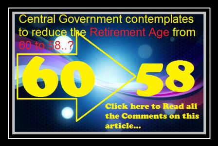 Retirement age 58