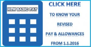 Expected 7th Pay Commission Pay Scale Calculator as on 1.1.2016 ...
