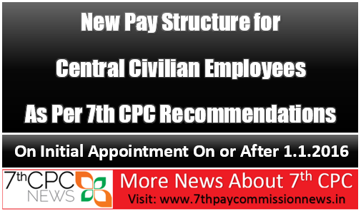 7th cpc new pay scale