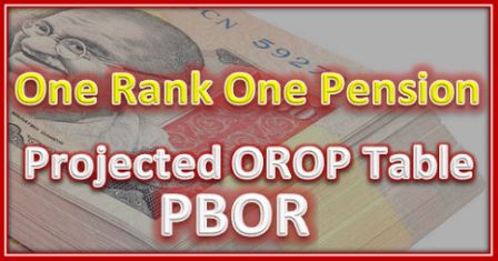 OROP Table BPOR
