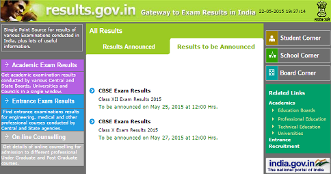 CBSE 10 12 RESULTS 2015
