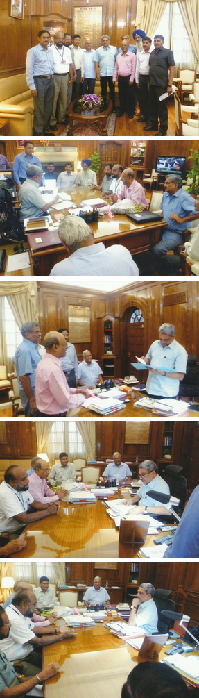 NEXCC Published Photos of Meeting with Defence Minister on 22.4.2015