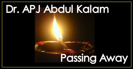 APJ Abdul Kalaam Passes Away
