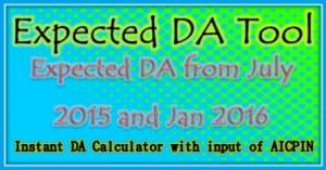 Expected da tool 2015
