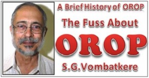 Fuss about OROP