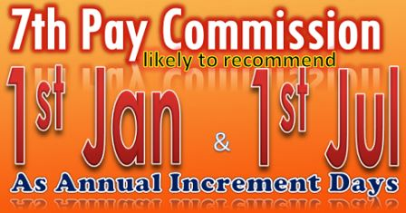 7th CPC Increment Days