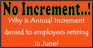 No Increment on July 30