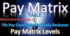 Pay Matrix Table special features