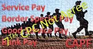 Service Pay Spl pay for CAPF