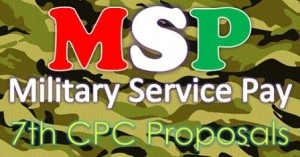 military service pay