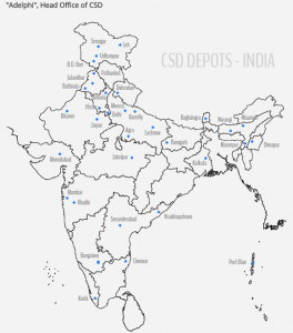 CSD Deopts in India